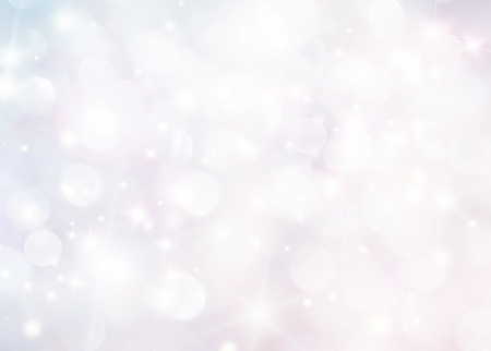 blurry lights: Abstract holiday background, beautiful shiny christmas lights and winter snowflakes, glowing magic bokeh