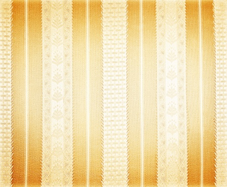 Abstract silk golden wallpaper, vintage pattern background, shiny striped backdrop photo