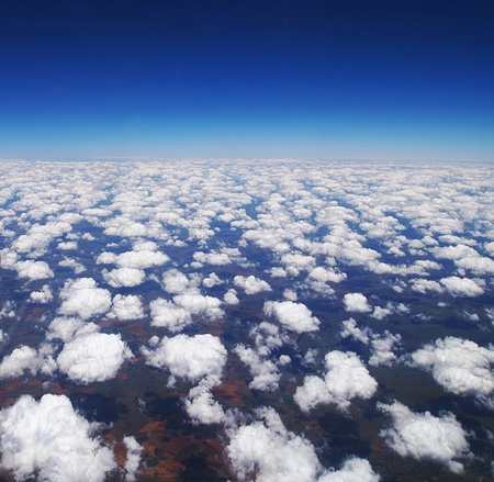 Cloudy sky background Stock Photo - 13077554