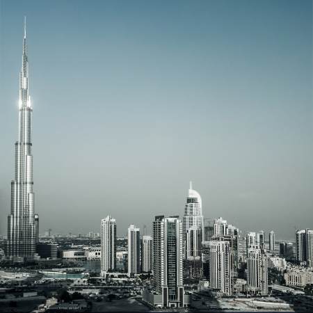 dubai mall: Photo of beautiful Dubai city Editorial