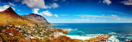 Ciudad del Cabo imagen panorámica de la ciudad Foto de archivo - 32143689