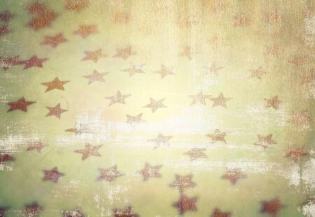 Grunge style photo of beautiful starry background, vintage stylish wallpaper, fashionable Christmas decoration photo