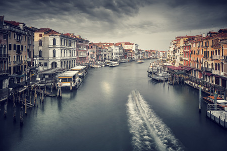 canal street: Beautiful Venice cityscape, vintage style photo of a gorgeous grand canal, traditional Venetian street, romantic vacation, Italy
