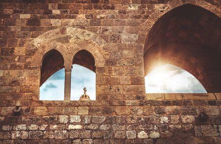 Ancient church in Lebanon, amazing architecture