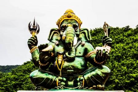 Ganesh in Ratchaburi province of Thailand Stock Photo - 23991786