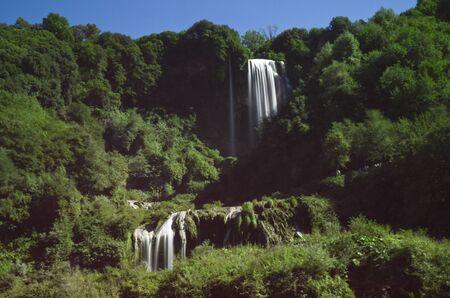 terni: Landscape of cascade of Marmore Terni Umbria Italy
