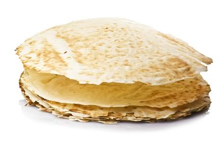 sardinia: Carasau bread of Sardinia Italy Stock Photo