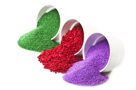 Bath salts,perfumed SPA concept photo