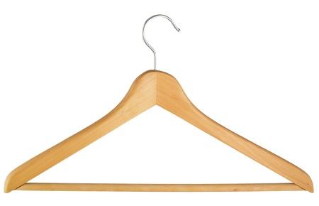 clotheshanger: Coat hanger isolated over white background  Coat hanger isolated over white background