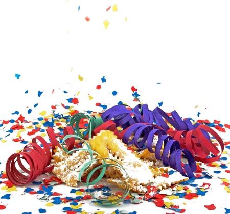 Carnival, celebration,party cake and mask