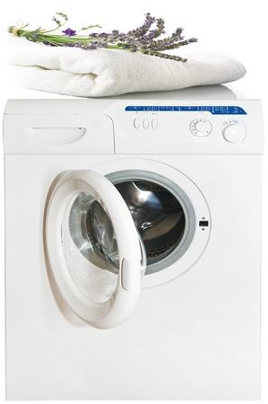 perfumed: perfumed laundry on the washing machine