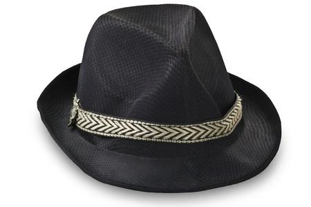 sombrero: Borsalino sombrero en el blanco Foto de archivo