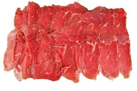 carpaccio: fresh carpaccio on the plate Stock Photo
