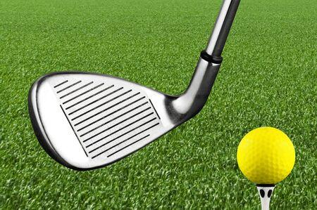 Photo of a golf iron club