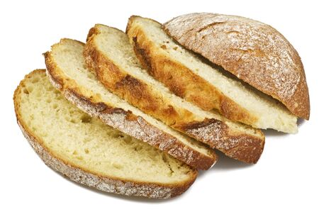 sliced bread: Bread from rye and wheat flour