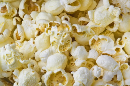 Pop corn texture close up Stock Photo - 10625844