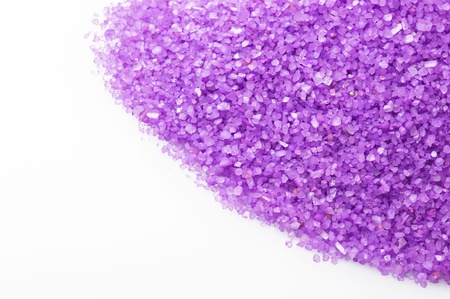 salts: Bath salts,perfumed SPA concept Stock Photo