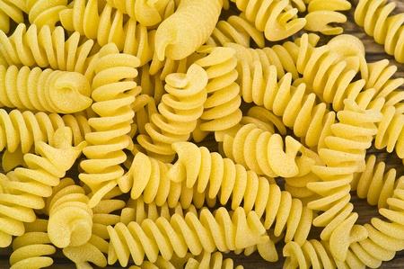 Italian Pasta on the table photo