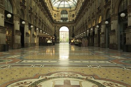 vittorio emanuele: Gallery Vittorio Emanuele in the center of Milan Italy Editorial