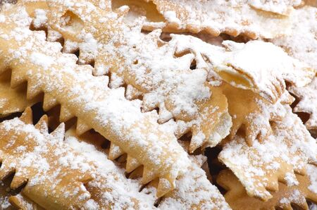 Bugie Chiacchere - Italian carnival food   photo