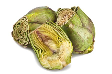 Artichoke sliced close up shoot  Stock Photo - 12996046