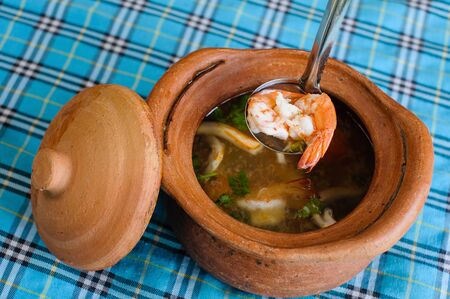 tomyam kung Stock Photo