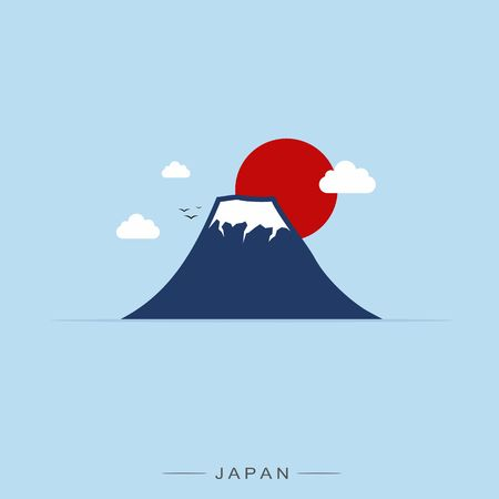 japan pattern: Japan and Fuji Mountain, Travel Landmark.