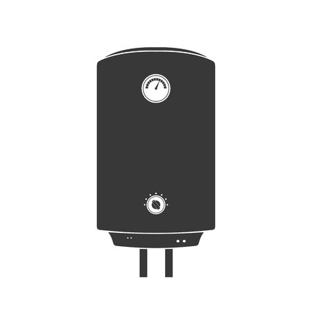 thermodynamic: Boiler Icon in flat style isolated on white background wish shadow.