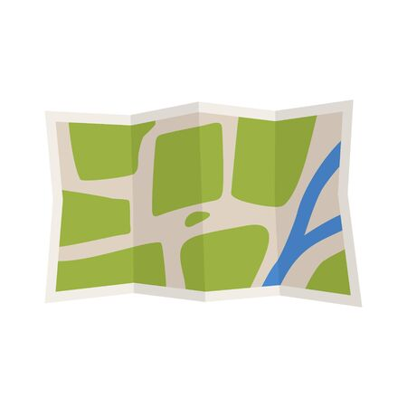 geography background: Travel route map in flat style. World map travellers picture frame travel geography. Map icon isolated on fhite background