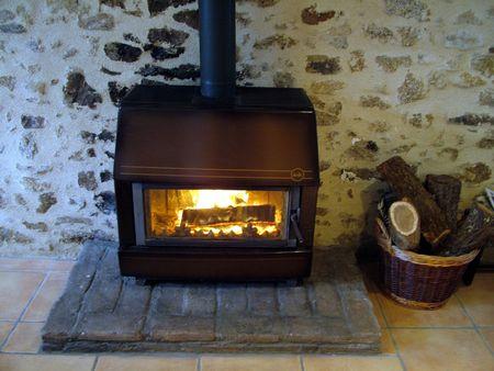 woodburner: wood burner
