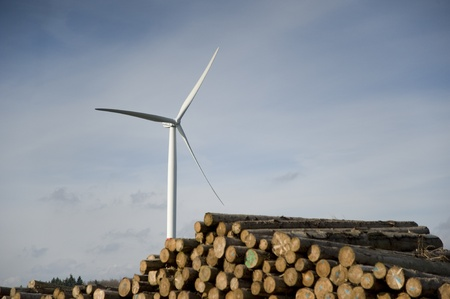 airfoil:  wind turbine at Baden in Germany
