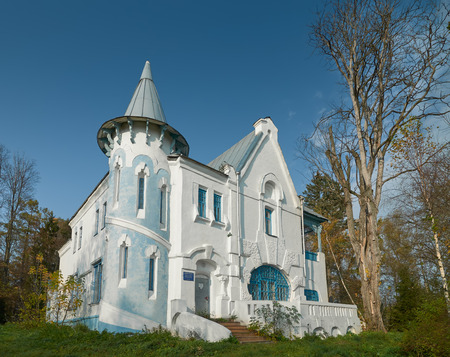 petrovich: House of russian surgeon Sergey Petrovich Fyodorov, 1869-1936, in Vorobyovo village, Kaluga region, Russia