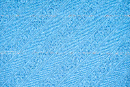 Blue knitted wear as a seamless background Stock Photo