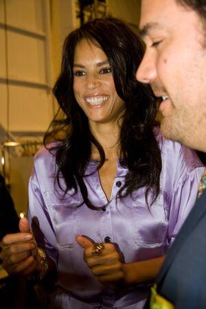 NEW YORK, NY - FEBRUARY 14: Veronica Webb attends the Betsey Johnson Fall 2011 in NYC Stock Photo - 9012621