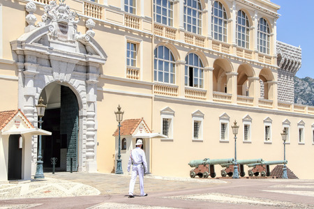 prince s palace of monaco: Prince Palace in Monaco