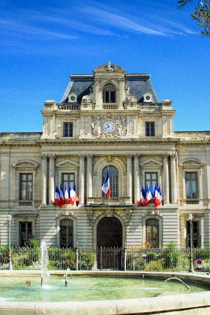 Prefecture in Montpellier. Prefecture dating from the 19th Century Editorial