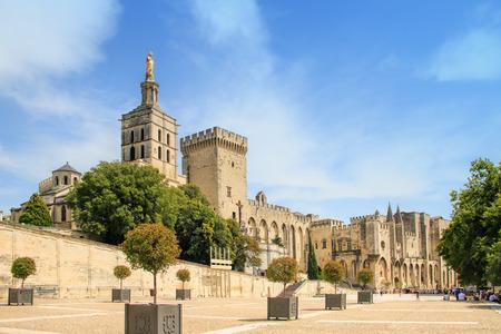 avignon: Popes Palace in Avignon, France