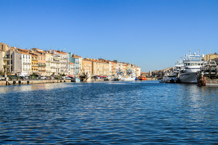 fascinating: Sete -  fascinating small town on the French Mediterranean coast  known as the Venice of Languedoc
