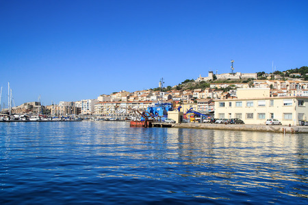 docker: Sete -  fascinating small town on the French Mediterranean coast  known as the Venice of Languedoc