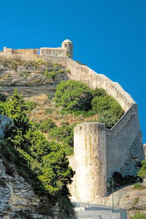 citadel: Citadel of Bonifacio - Picturesque?Capital of Corsica, France
