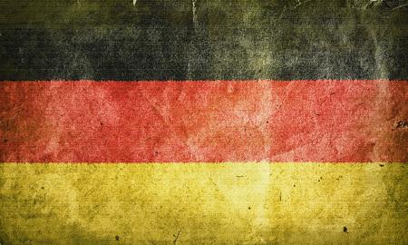 east berlin: flag of  Germany. Old vintage paper texture.
