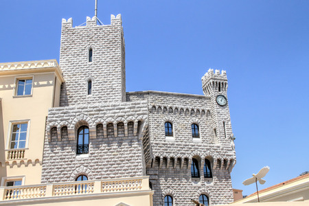 Princes Palace of Monaco, the official residence of Prince of Monaco.