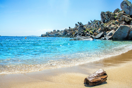 View of Bonifacio, Corsica, France