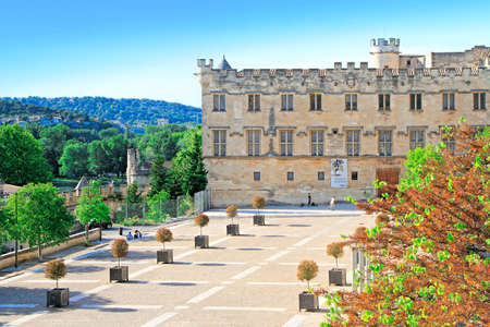 Avignon, France - May 08, 2014: Museum of Petit Palais near Pope palace in Avignon, France