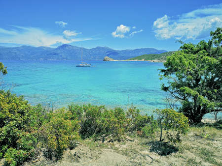 Lotu beach, Agriates desert, Corsica - The Isle of Beauty, France.