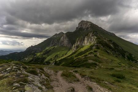 tatry: A beautiful landscape of Belianske Tatry. Slovakia.