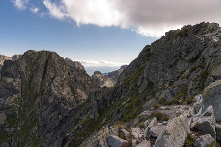 orla: Landscape of Orla Perc most difficult trail in the High Tatra Mountains.