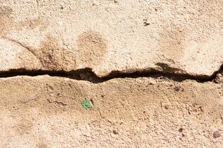 cracked gray concrete background