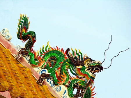 Dragon of Thailand Stock Photo - 14484184