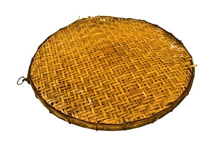 threshing: Threshing basket of thai Stock Photo